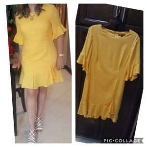 Beutiful Gianni Bini yellow dress